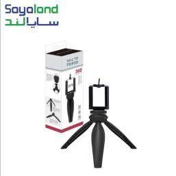 سه پایه دوربین مدل EP5 دارای جنس بدنه ی پلاستیکی بسیار مقاوم است و تا 360 درجه قابلیت چرخش دارد. این محصول به شما کمک می کند تا عکس ها و فیلم هایی بدون لرزش ، با کیفیت و عالی بگیرید. سه پایه دوربین مدل EP5 با قیمت عالی ، کیفیت فوق العاده و طراحی ارگونومیک برای انواع گوشی ها و دوربین های عکاسی مناسب است.
