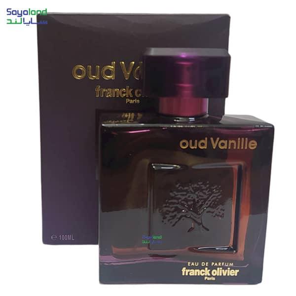 ادو پرفیوم فرانک اولیویر مدل oud Vanille حجم 100 میلی لیتر